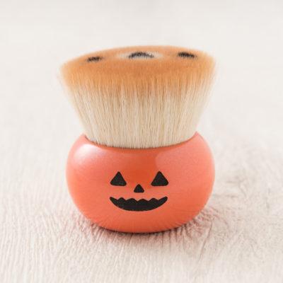 リラックマクマノフデ(熊野筆)[リラックマフェイス] フェイスブラシ Halloween/Orange