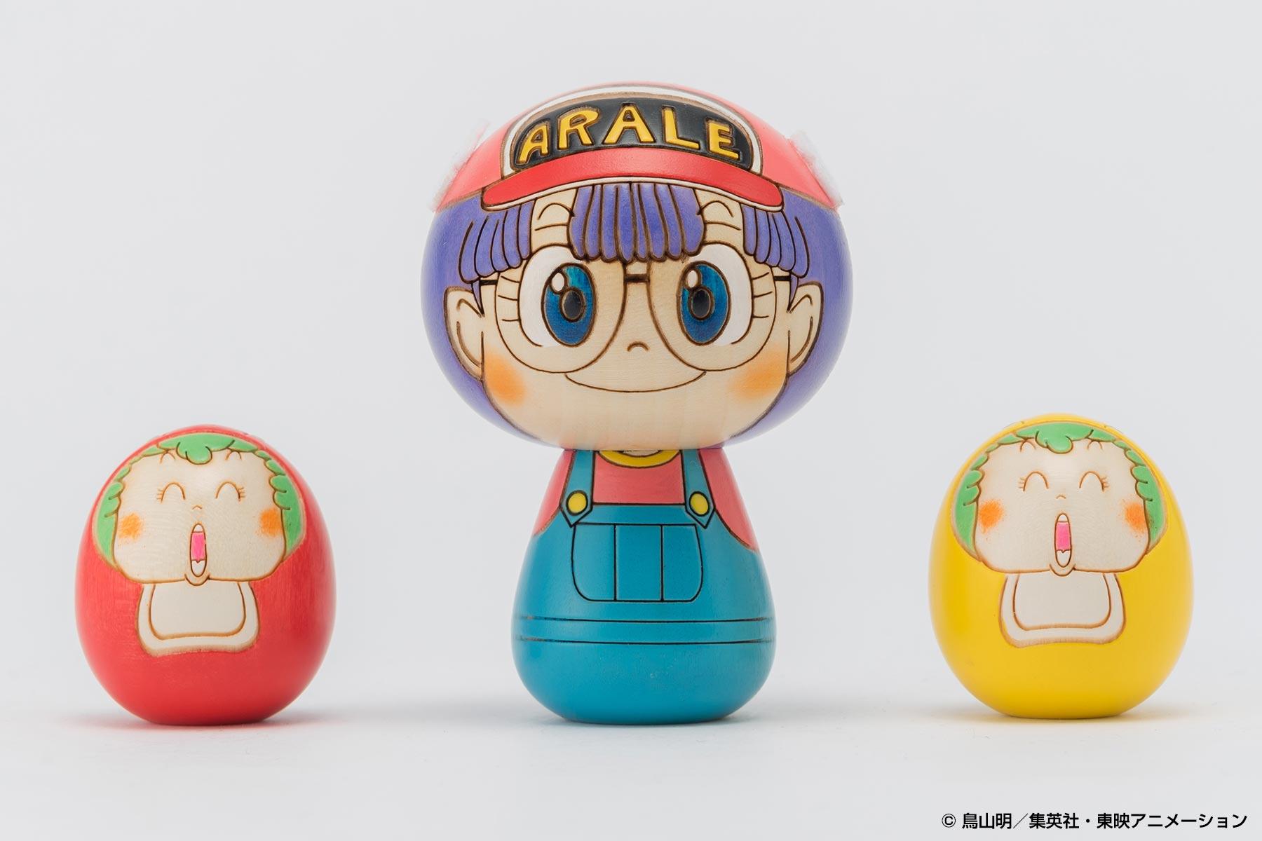 Dr.スランプ アラレちゃんこけし by 卯三郎こけし