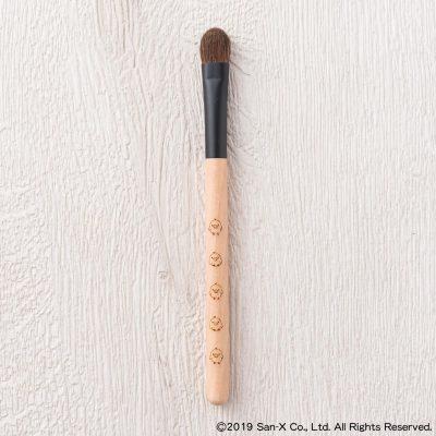 リラックマクマノフデ(熊野筆)[キイロイトリ] アイシャドウブラシ