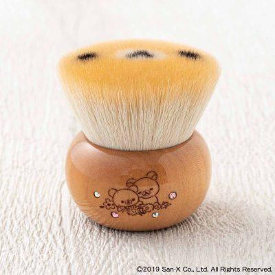 リラックマクマノフデ(熊野筆)[コリラックマフェイス] フェイスブラシ Special Edition