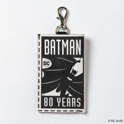 OJAGA DESIGN バットマン [80YEARS LOGO] パスケース