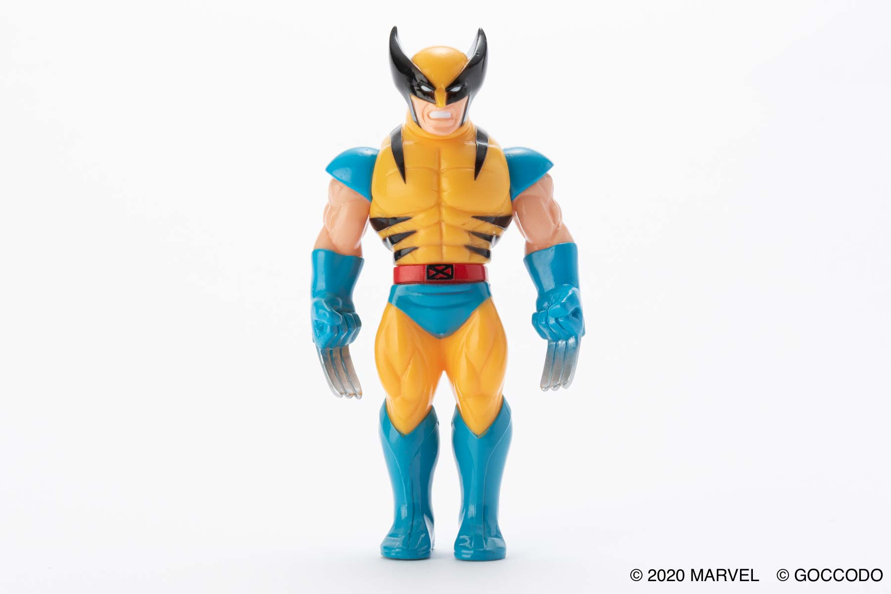 HKDSTOY×ゴッコ堂 -MARVEL [WOLVERINE] YELLOW/BLUE