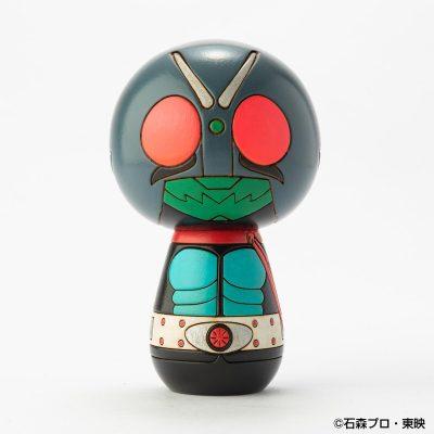 仮面ライダーこけし [旧1号] by 卯三郎こけし