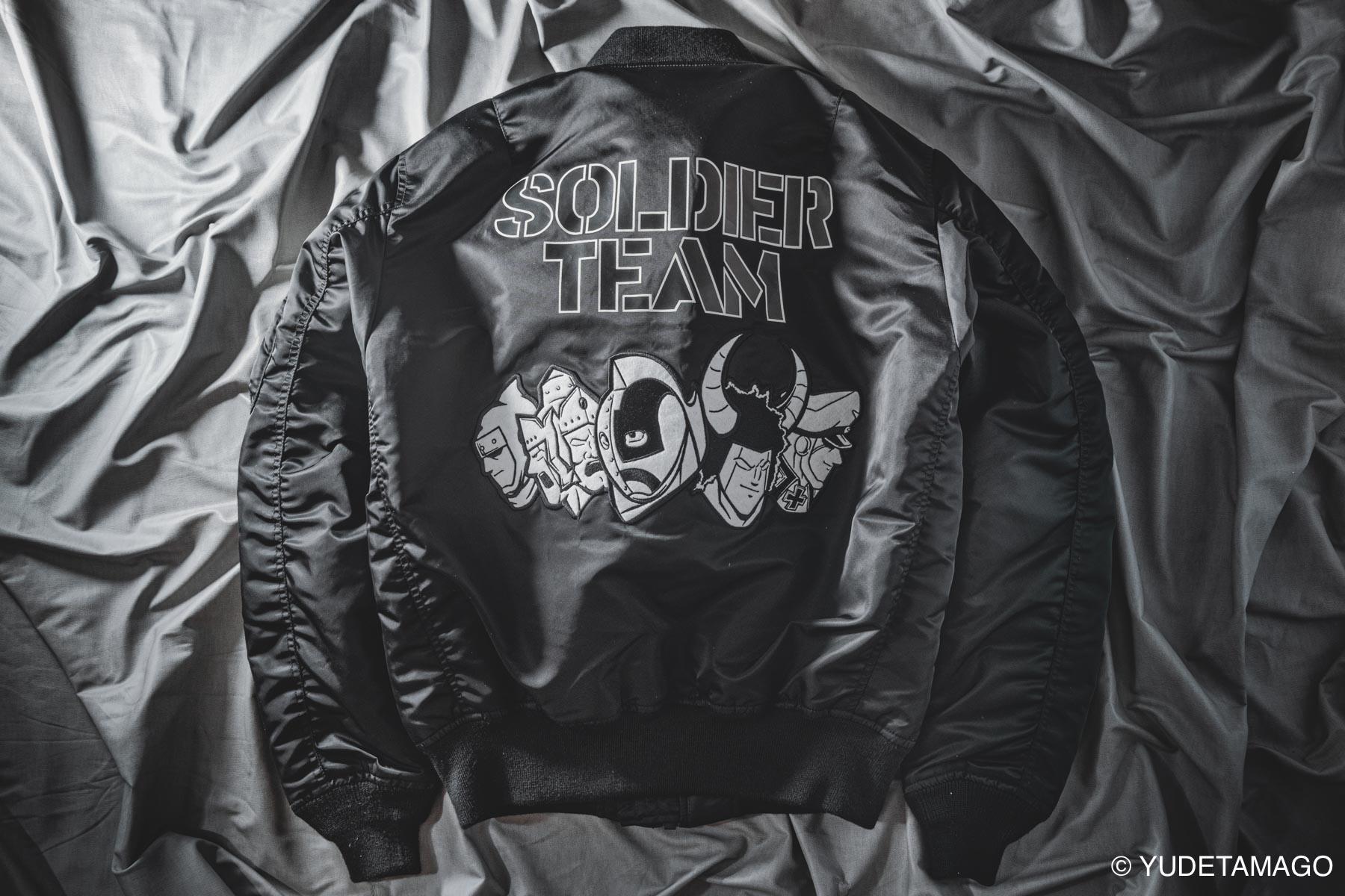 キン肉マン×AVIREX MA-1 [SOLDIER TEAM]